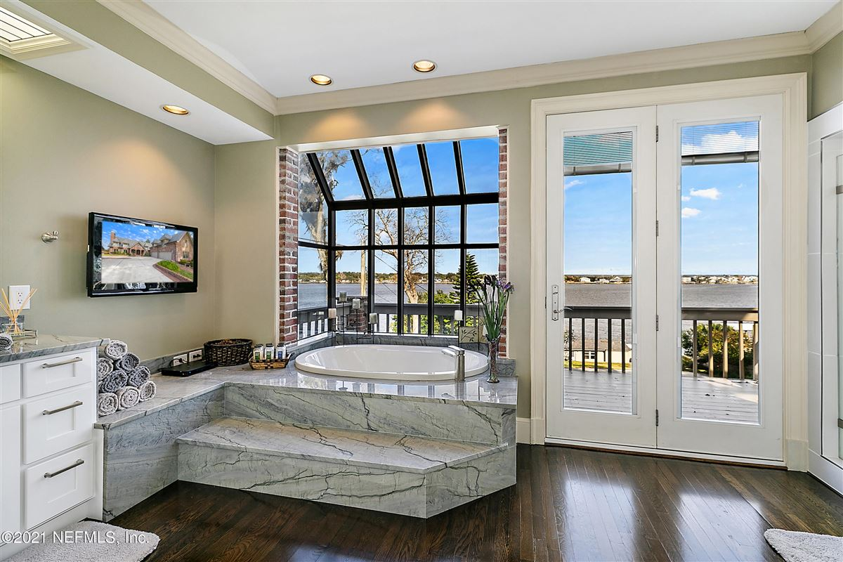 Luxury properties Breathtaking riverfront estate