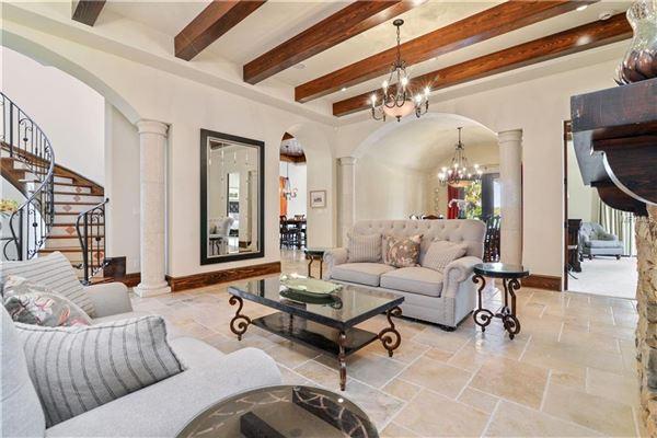 view this stunning Mediterranean Style Villa luxury real estate