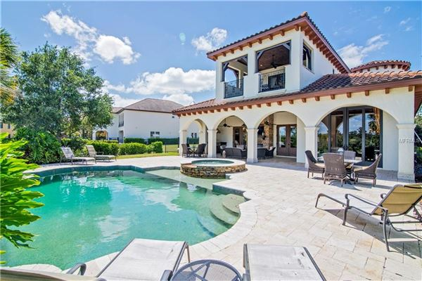 view this stunning Mediterranean Style Villa luxury homes