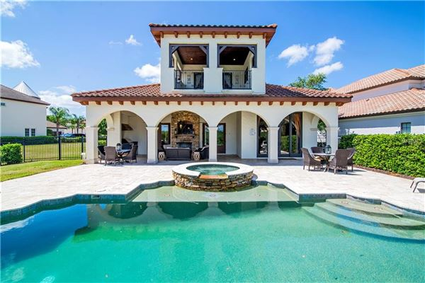 Luxury real estate  view this stunning Mediterranean Style Villa