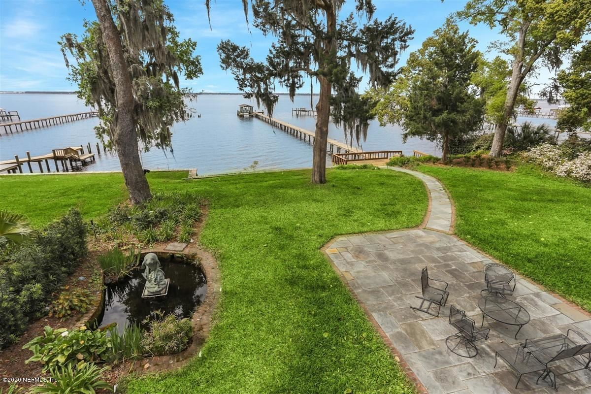 Mansions Brick riverfront mansion on bluff overlooking St Johns River