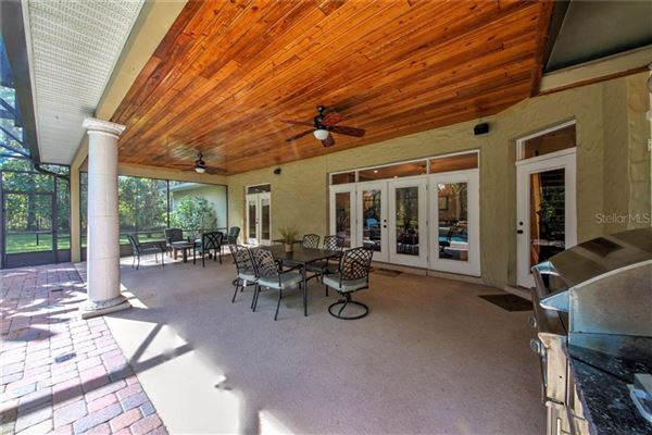 Mansions in breathtaking custom outdoor oasis nestled on 1.73 acre lot