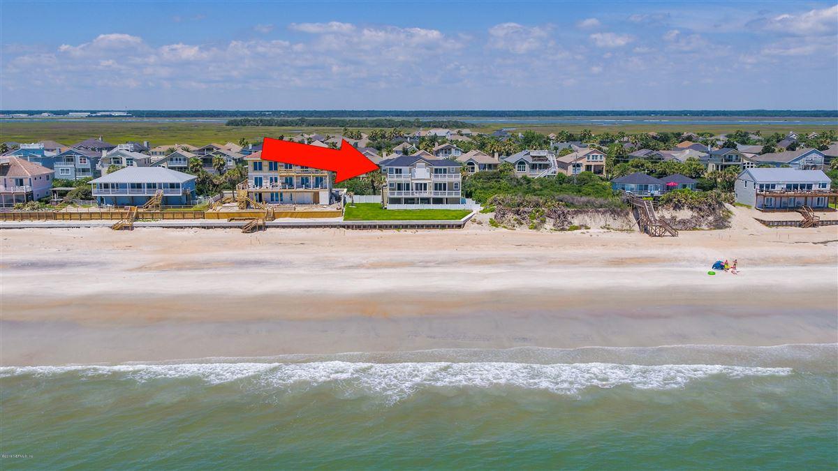 Luxury homes Custom built beachfront property
