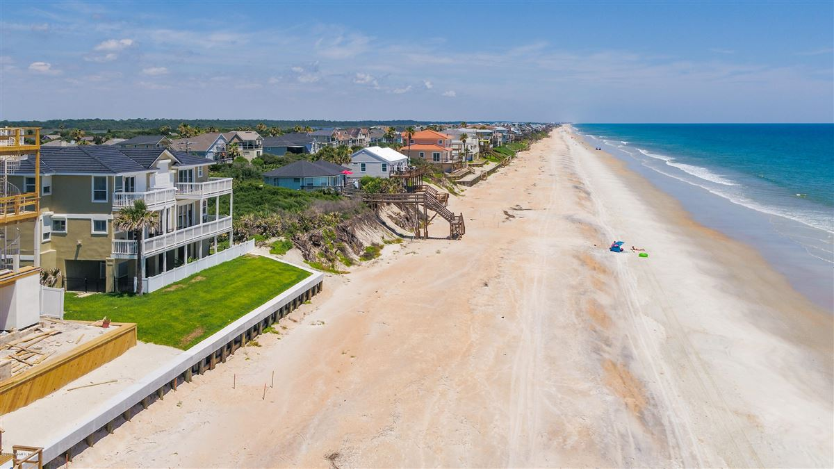 Custom built beachfront property luxury real estate
