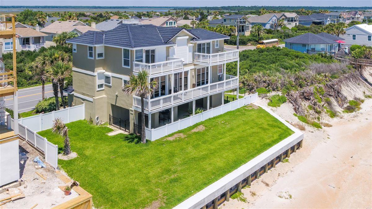 Luxury properties Custom built beachfront property