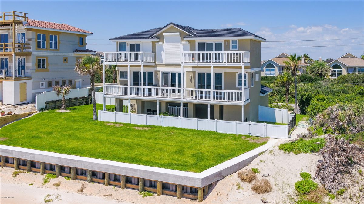 Custom built beachfront property luxury properties