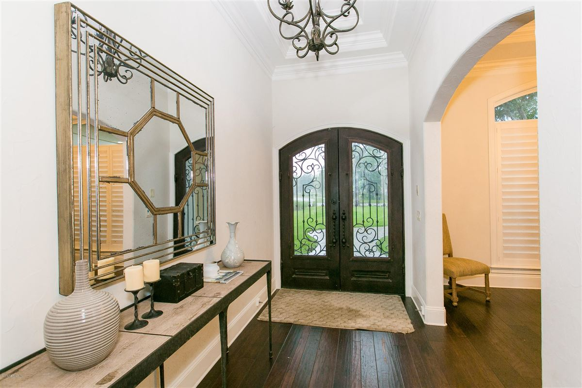 Luxury properties Luxurious estate home on a private preserve lot