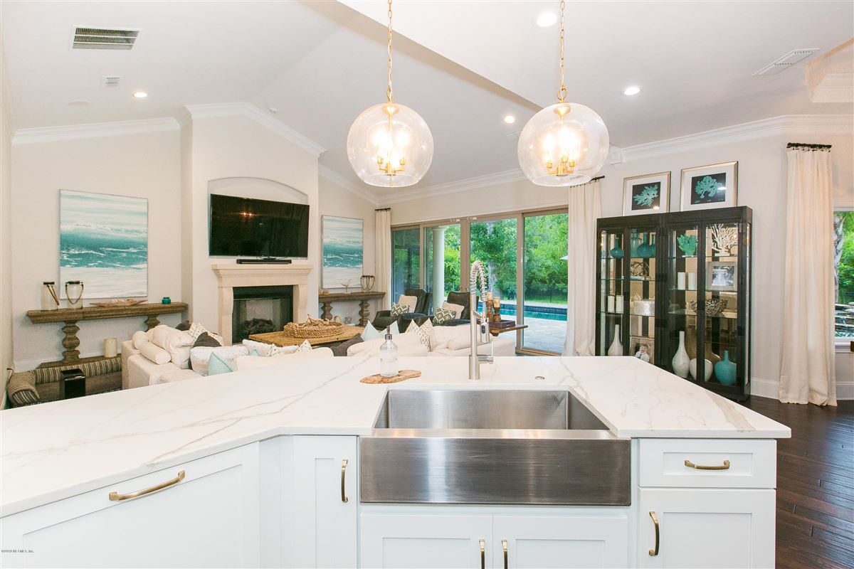 Mansions in Luxurious estate home on a private preserve lot