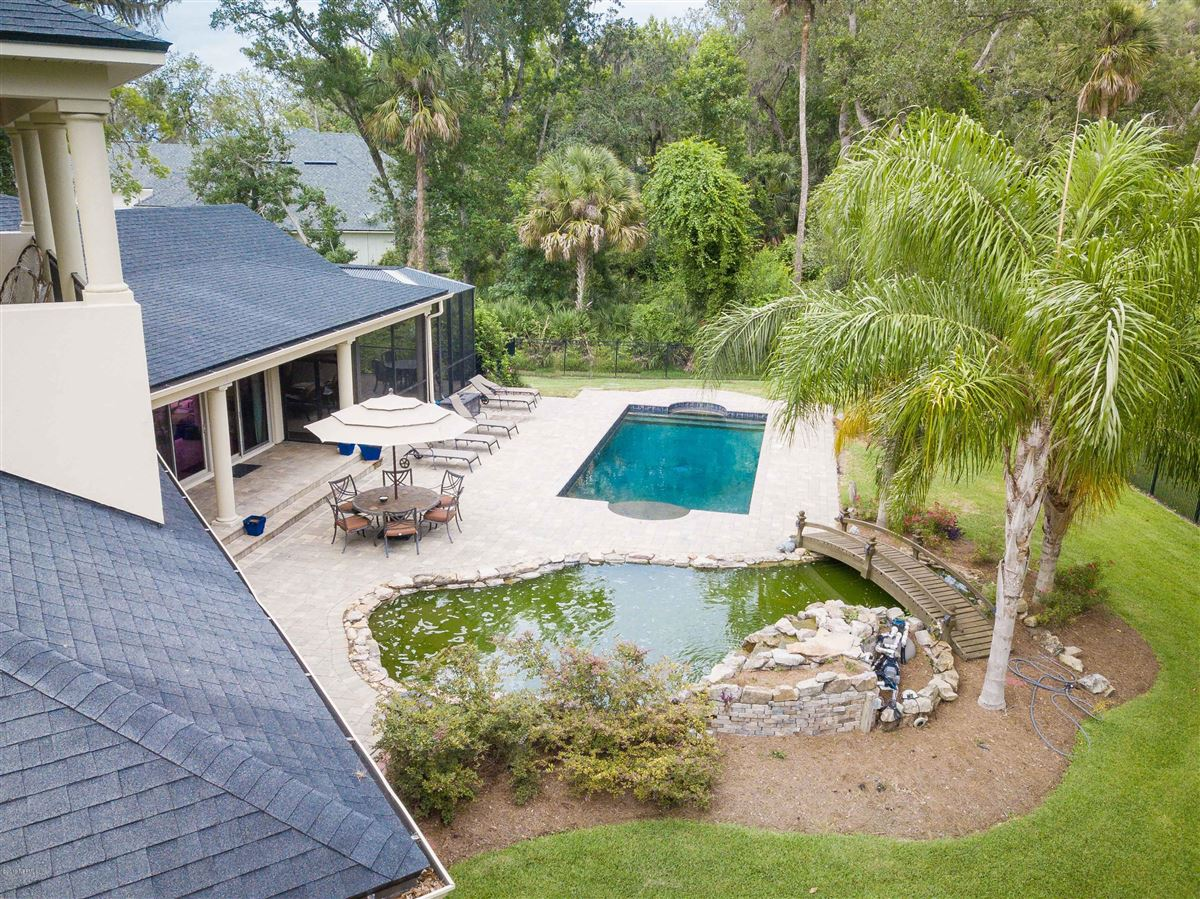 Luxurious estate home on a private preserve lot luxury homes