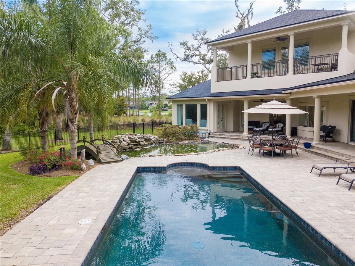 Luxurious estate home on a private preserve lot luxury real estate