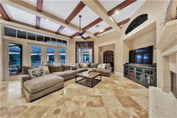 Luxury homes in luxury Spanish Mediterranean style in Reserve at Lake Butler Sound