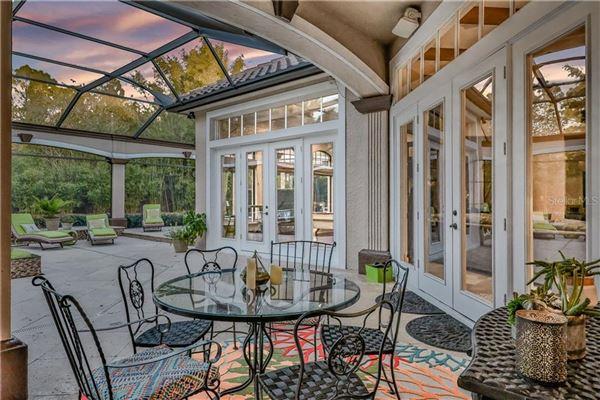 luxury Spanish Mediterranean style in Reserve at Lake Butler Sound luxury real estate
