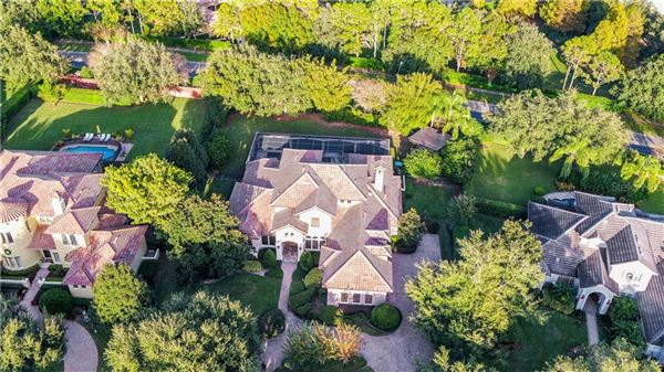 Luxury homes luxury Spanish Mediterranean style in Reserve at Lake Butler Sound