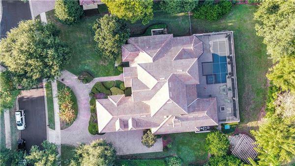 luxury Spanish Mediterranean style in Reserve at Lake Butler Sound luxury homes