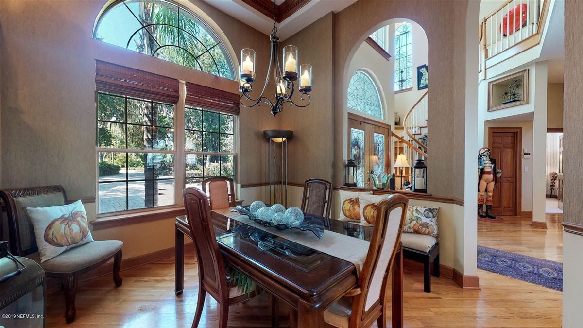 Stunning Riverfront gated home luxury properties