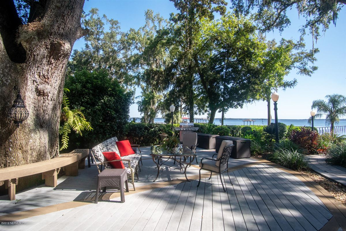 Mansions Stunning Riverfront gated home