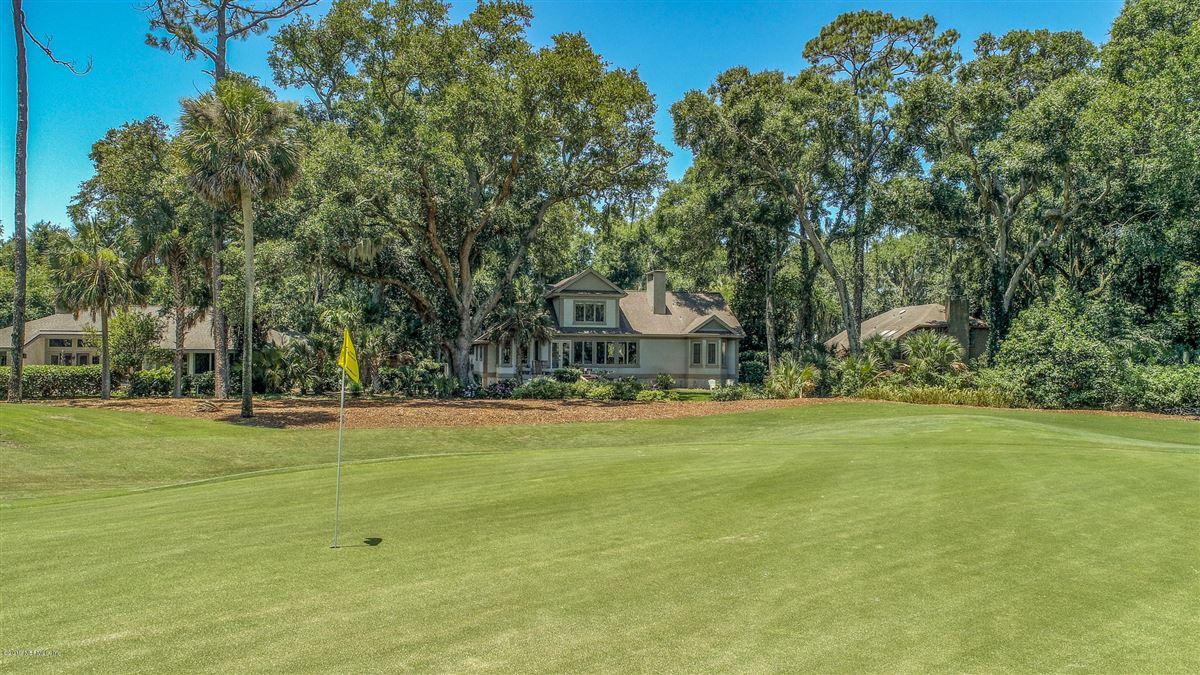 Luxury real estate beautiful home overlooking Oaks Marsh golf course