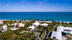 Luxury properties Casually elegant oceanfront home in vero beach