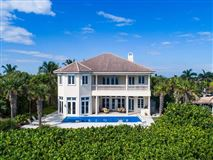Luxury homes private oceanfront estate with four balconies
