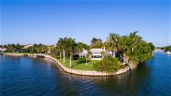 Mansions coveted riverfront property in Riomar Bay