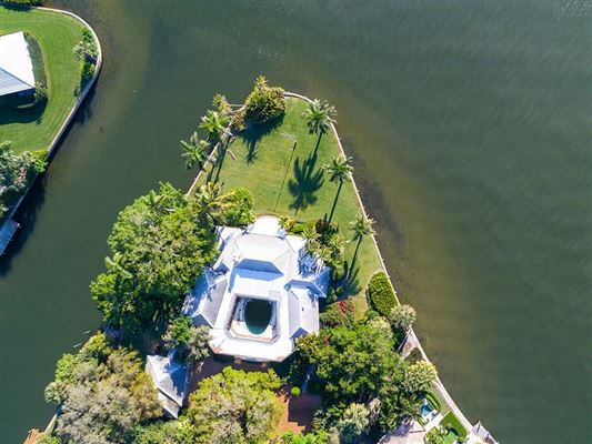 Luxury real estate coveted riverfront property in Riomar Bay