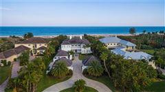 Luxury properties Magnificent oceanfront estate in vero beach
