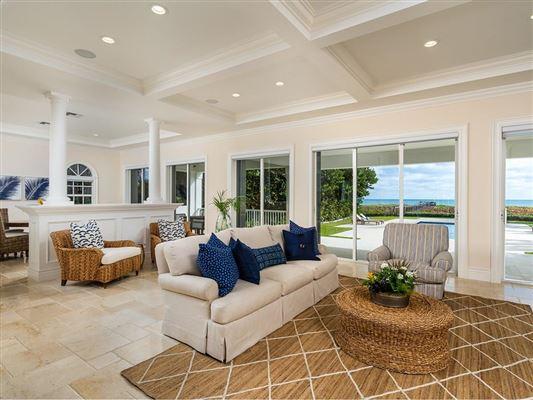 Magnificent oceanfront estate in vero beach luxury real estate