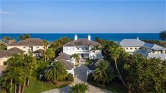 Magnificent oceanfront estate in vero beach mansions