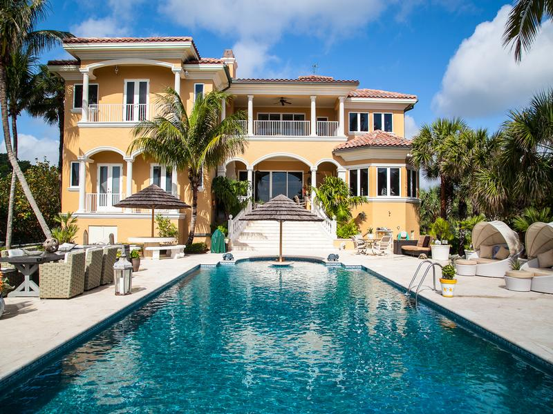 Luxury properties Magnificent Oceanfront Estate