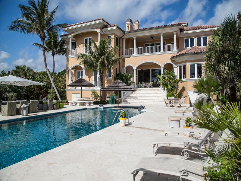 Magnificent Oceanfront Estate mansions