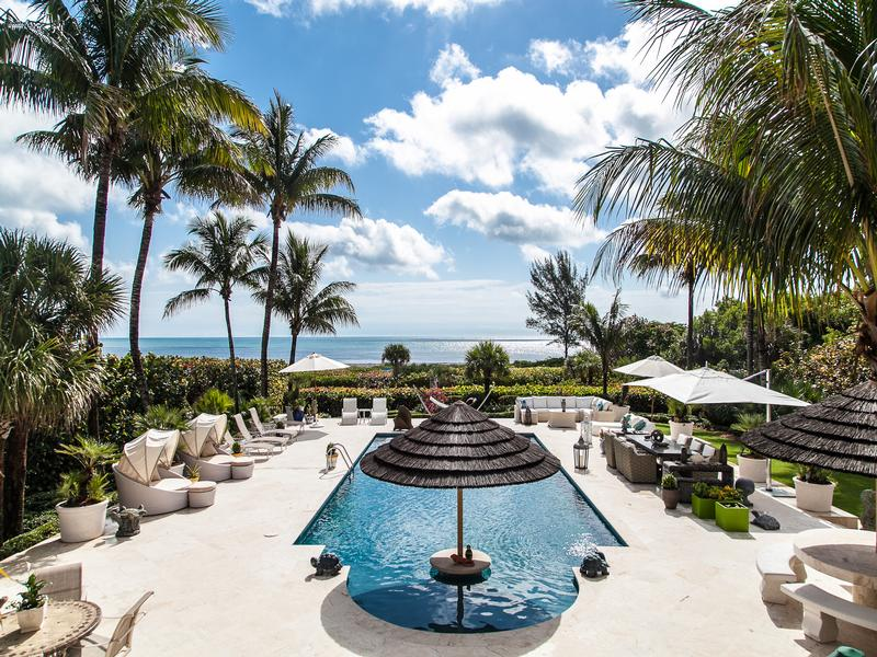 Luxury homes in Magnificent Oceanfront Estate