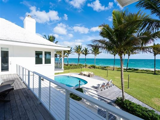 Casually elegant oceanfront home in vero beach luxury properties