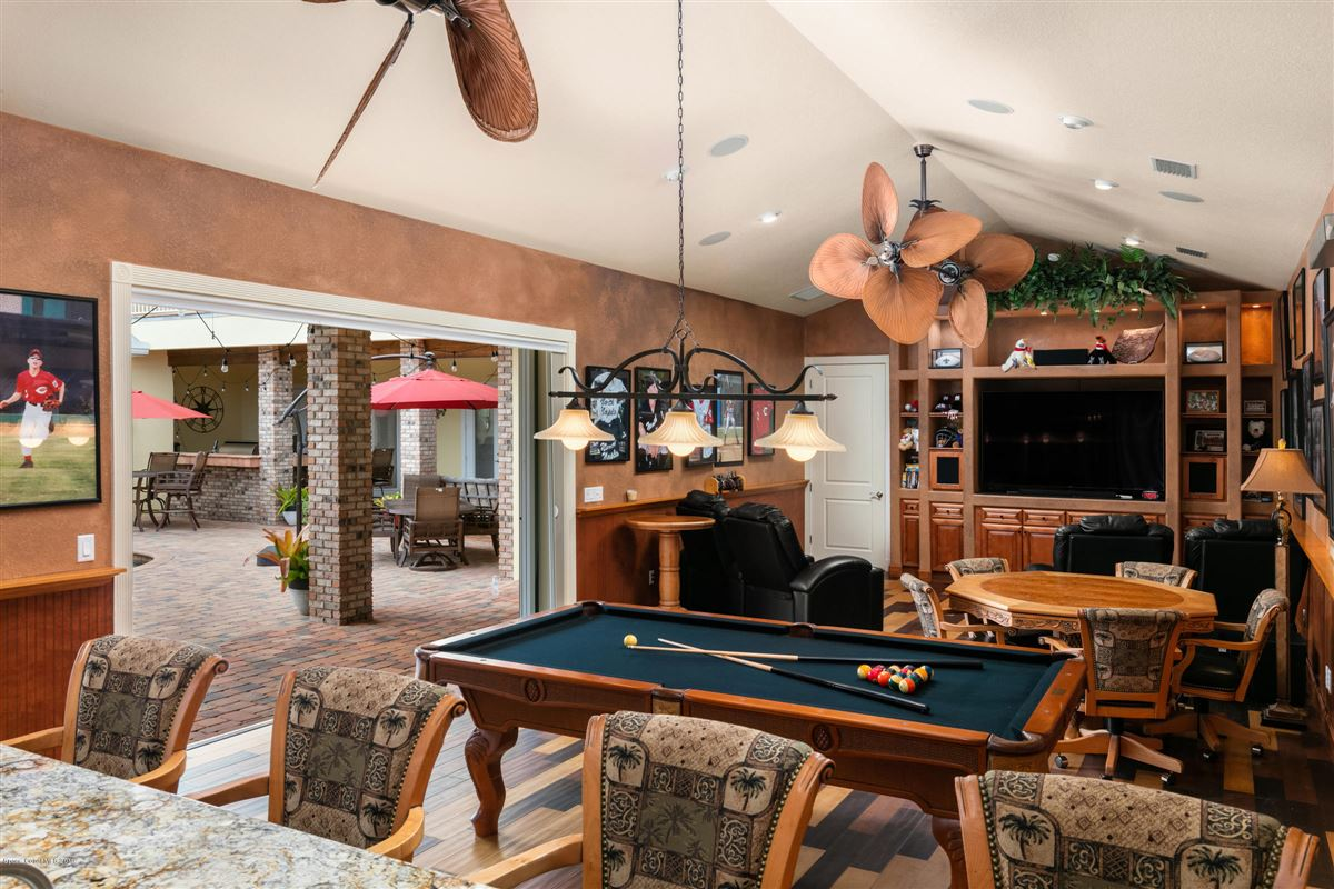 Indian River Pool Home  luxury homes
