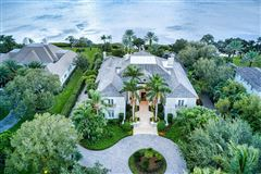 Opulent waterfront estate luxury properties