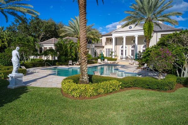 Luxury real estate Opulent waterfront estate