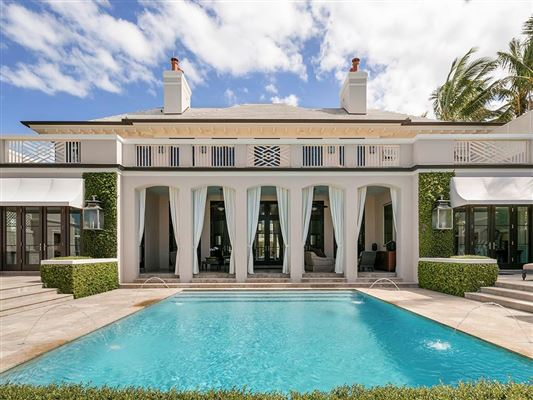Luxury properties Meticulously crafted Vero Beach riverfront estate