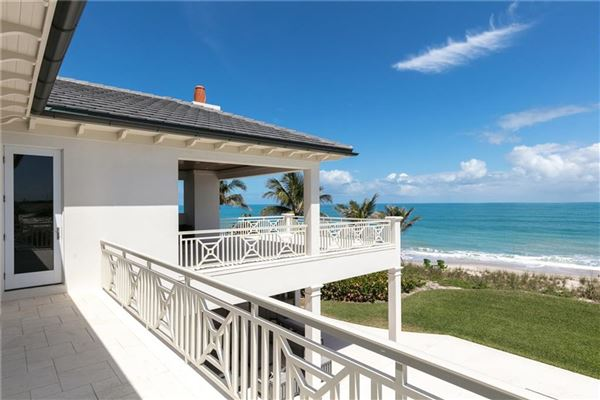 Luxury properties Exquisitely built oceanfront vero beach home