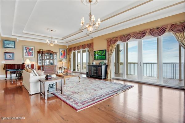 an Exquisite Penthouse Unit  luxury real estate