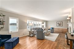 This spectacular updated lake home has over 230 feet of pristine frontage luxury homes