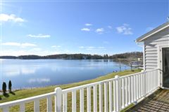 Luxury homes in This spectacular updated lake home has over 230 feet of pristine frontage
