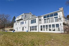 Luxury properties This spectacular updated lake home has over 230 feet of pristine frontage
