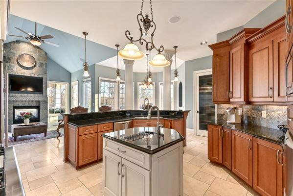 Luxury properties a masterfully designed and constructed home on an impeccable lot