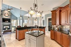 Luxury homes in a masterfully designed and constructed home on an impeccable lot