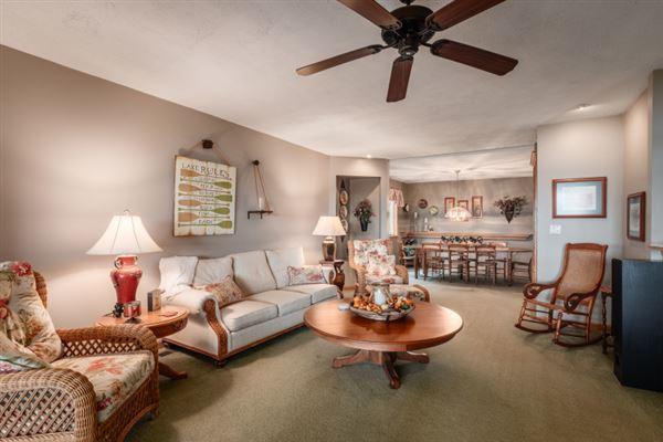 Luxury homes a resort property on Delavan Lake