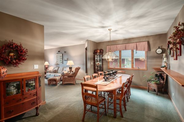 Luxury real estate a resort property on Delavan Lake
