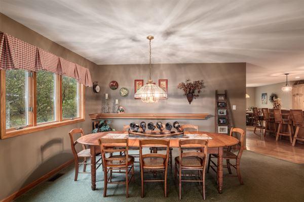 a resort property on Delavan Lake luxury real estate