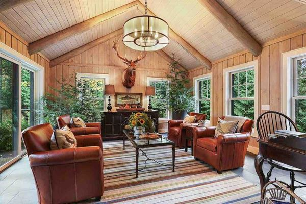 A secluded setting in sister bay luxury real estate