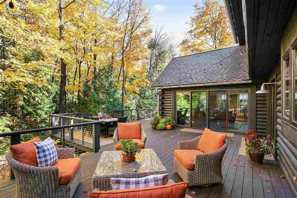 Luxury real estate A secluded setting in sister bay