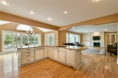Mansions beautiful and spacious home in heart of brookfield