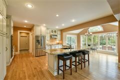 Luxury homes in beautiful and spacious home in heart of brookfield